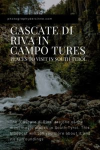 CASCATE DI RIVA IN CAMPO TURES PLACES IN SOUTH TYROL (1)